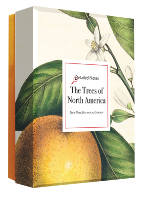 The Trees of North America: A Detailed Notes notecard box Cover Image