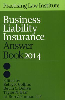 Business Liability Insurance Answer Book 2014 Cover Image