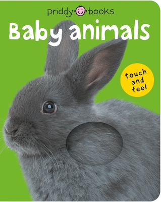 Bright Baby Touch & Feel Baby Animals (Bright Baby Touch and Feel) Cover Image