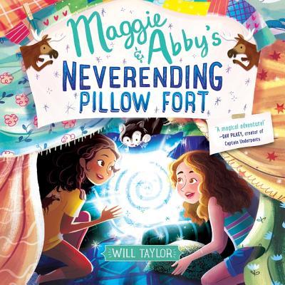 Maggie & Abby's Neverending Pillow Fort Lib/E Cover Image