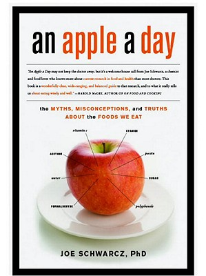 An Apple a Day: The Myths, Misconceptions, and Truths about the Foods We Eat Cover Image