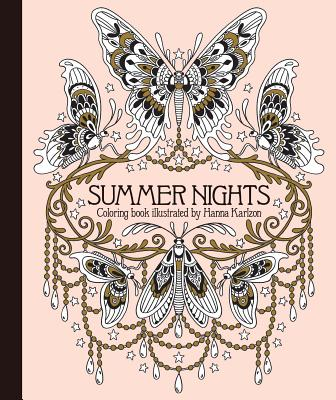 Summer Nights Coloring Book: Originally Published in Sweden as Sommarnatt Cover Image