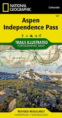 Aspen, Independence Pass (National Geographic Maps: Trails Illustrated #127) Cover Image