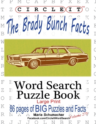 Circle It, The Brady Bunch Facts, Word Search, Puzzle Book Cover Image