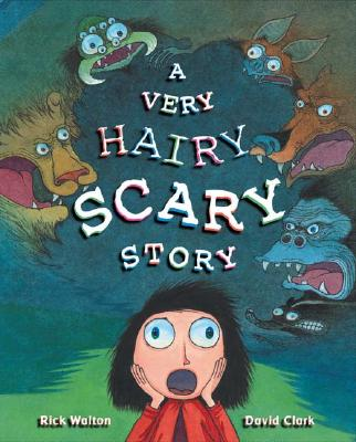 A Very Hairy Scary Story Cover