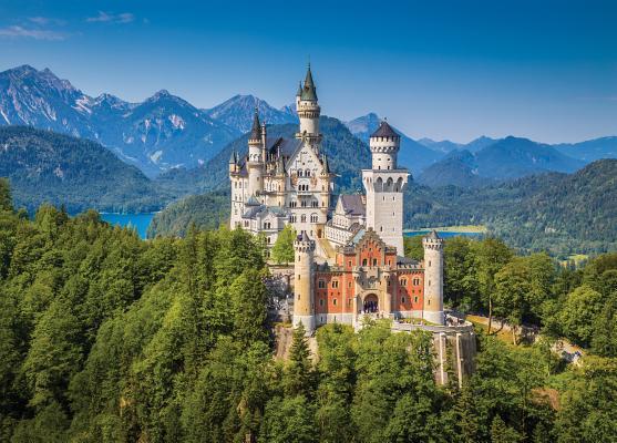 Puzzle Neuschwanstein Castle Cover Image