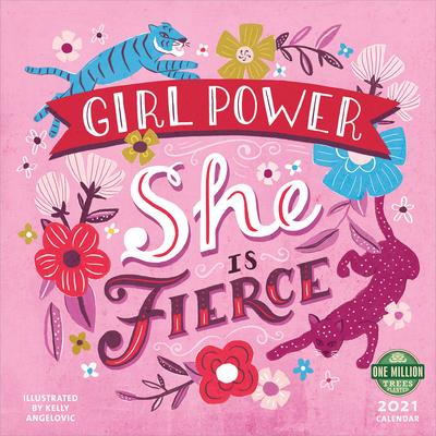 Girl Power 2021 Wall Calendar Cover Image