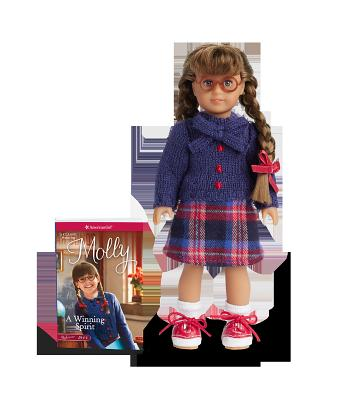 Molly Mini Doll and Book [With Doll] Cover Image