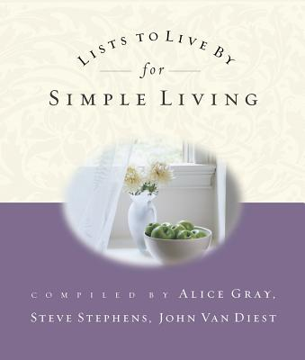 Lists to Live by for Simple Living Cover