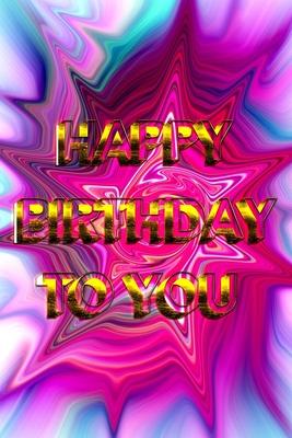 Happy Birthday Book: Happy Birthday (16) - happy birthday kids book - september happy birthday to you book - september birthday themes - se Cover Image
