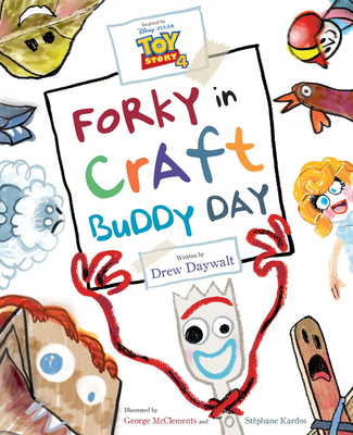 Toy Story 4: Forky in Craft Buddy Day Cover Image