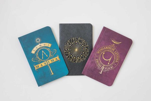 Harry Potter: Spells Pocket Notebook Collection (Set of 3) Cover Image