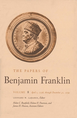 Cover for The Papers of Benjamin Franklin, Vol. 8