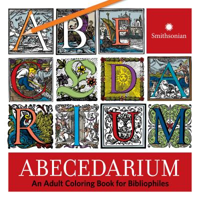 Abecedarium: An Adult Coloring Book for Bibliophiles Cover Image