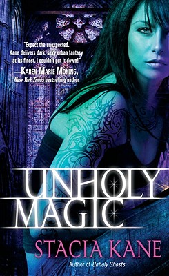 Unholy Magic (Downside Ghosts #2) Cover Image