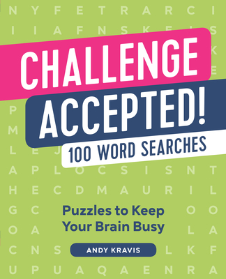 Challenge Accepted!: 100 Word Searches Cover Image