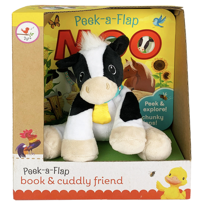 Moo Gift Set [With Plush Toy Cow] Cover Image