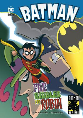 Five Riddles for Robin (Batman) Cover Image