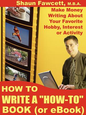 How to Write a How-To Book (or eBook) Cover Image