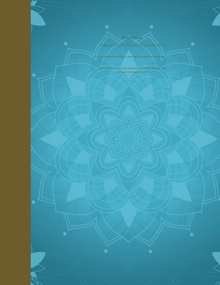 Mandala Math Notebook Cover Image
