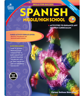 Spanish, Grades 6 - 12 (Skills for Success) Cover Image