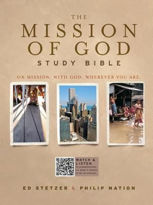 Mission of God Study Bible-HCSB Cover