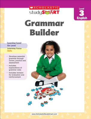 Scholastic Study Smart Grammar Builder Grade 3 Cover Image