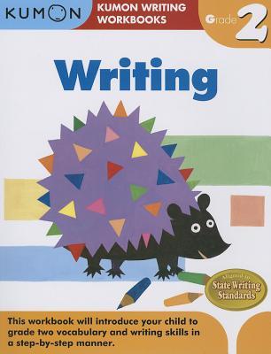Writing, Grade 2 (Kumon Writing Workbooks) Cover Image