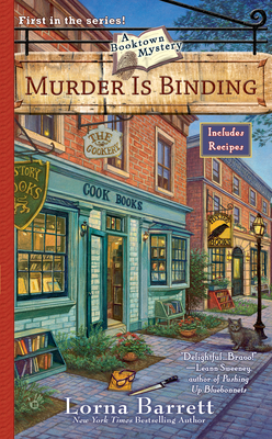 Murder Is Binding (A Booktown Mystery #1) Cover Image