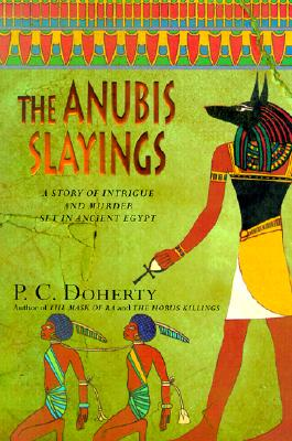 Cover for The Anubis Slayings