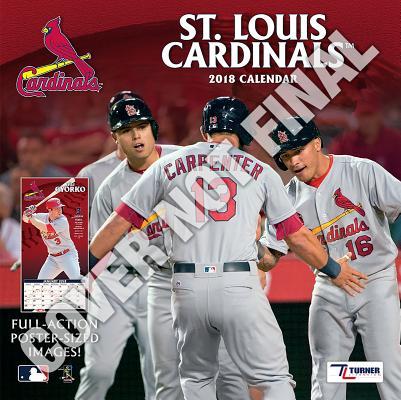 St Louis Cardinals 2019 12x12 Team Wall Calendar Cover Image