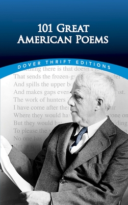 101 Great American Poems (Dover Thrift Editions) Cover Image