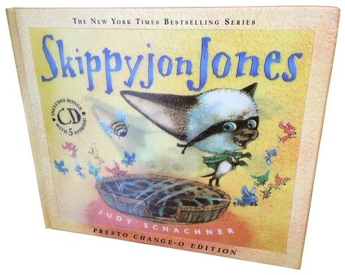 Skippyjon Jones Presto-Change-O [With CD (Audio)] Cover