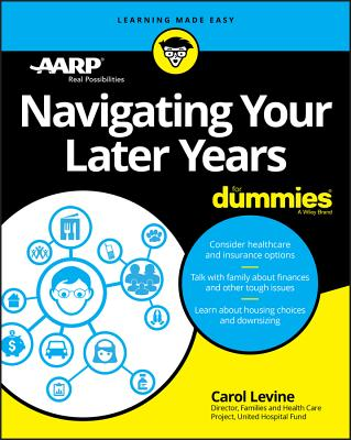 Navigating Your Later Years for Dummies Cover Image