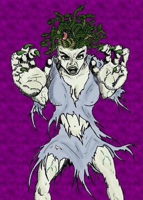 Medusa's Rage Journal Cover Image
