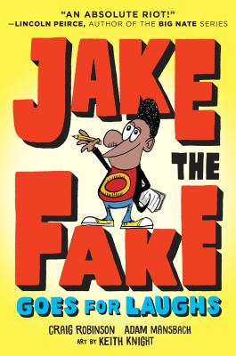 Jake the Fake Goes for Laughs Cover Image