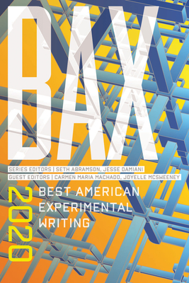 Bax 2020: Best American Experimental Writing Cover Image