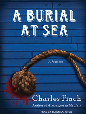 A Burial at Sea (Charles Lenox Mysteries #5) Cover Image