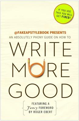Write More Good Cover