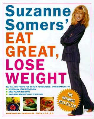 Suzanne Somers' Eat Great, Lose Weight Cover