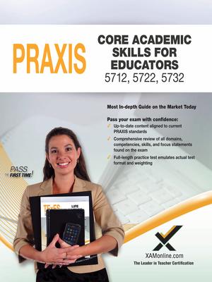 2017 Praxis Core Academic Skills for Educators (5712, 5722, 5732) Cover