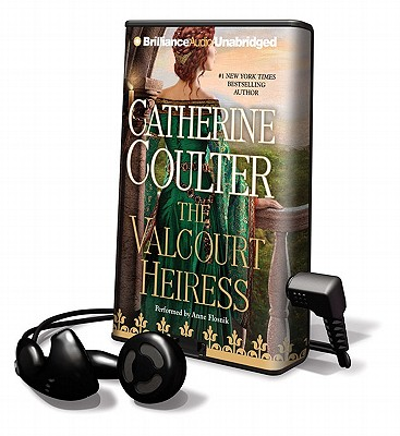 The Valcourt Heiress [With Earbuds] (Playaway Adult Fiction) Cover Image