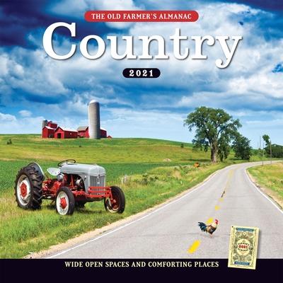 The 2021 Old Farmer's Almanac Country Calendar Cover Image