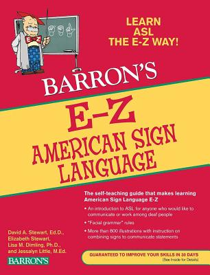 E-Z American Sign Language (Barron's Easy Way) Cover Image