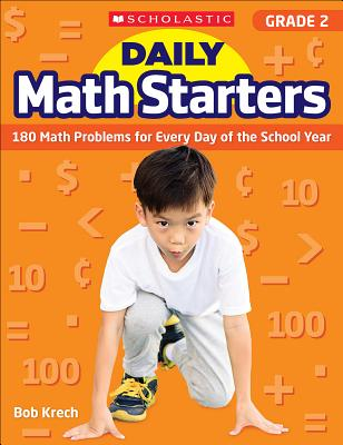 Daily Math Starters: Grade 2: 180 Math Problems for Every Day of the School Year Cover Image