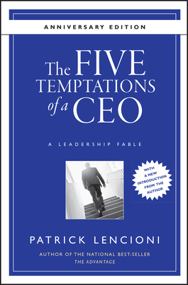 The Five Temptations of a Ceo, 10th Anniversary Edition cover image