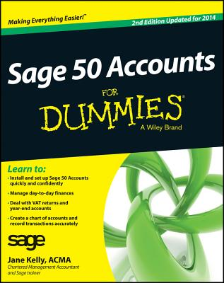 Sage 50 Accounts for Dummies Cover Image