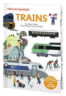 Ultimate Spotlight: Trains Cover Image
