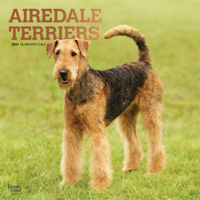Airedale Terriers 2021 Square Foil Cover Image