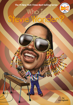 Who Is Stevie Wonder? (Who Was?) Cover Image
